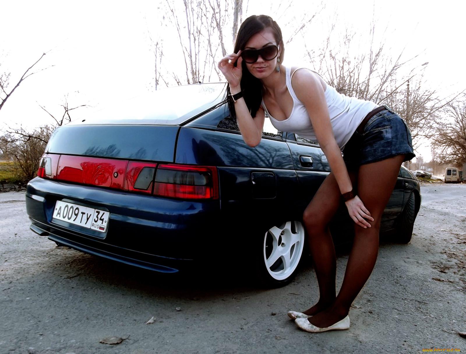 Смотреть бесплатно фото отечественных авто и девушки 14 фотография