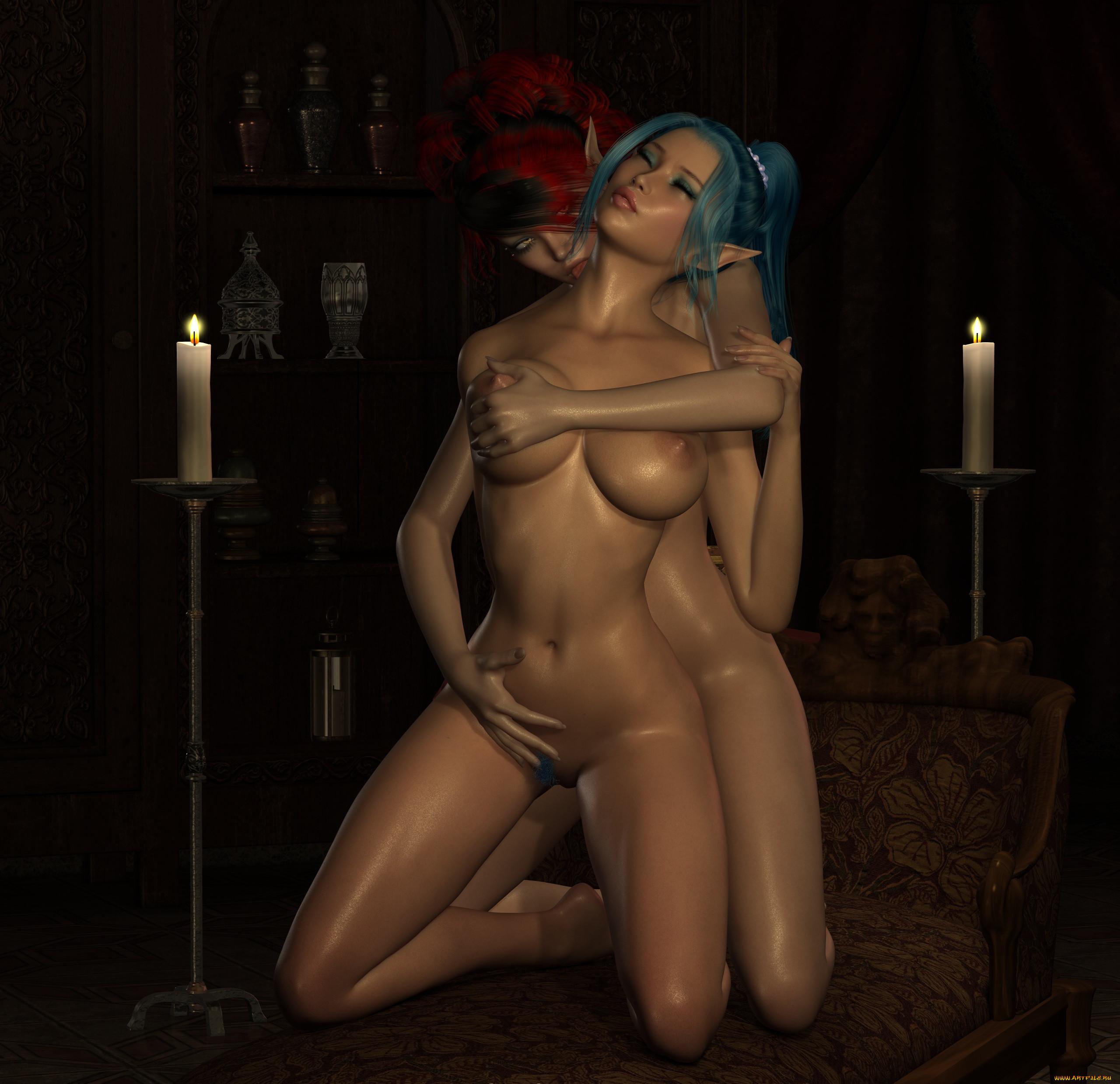 Порно арт голая эльфийка фото 780-51