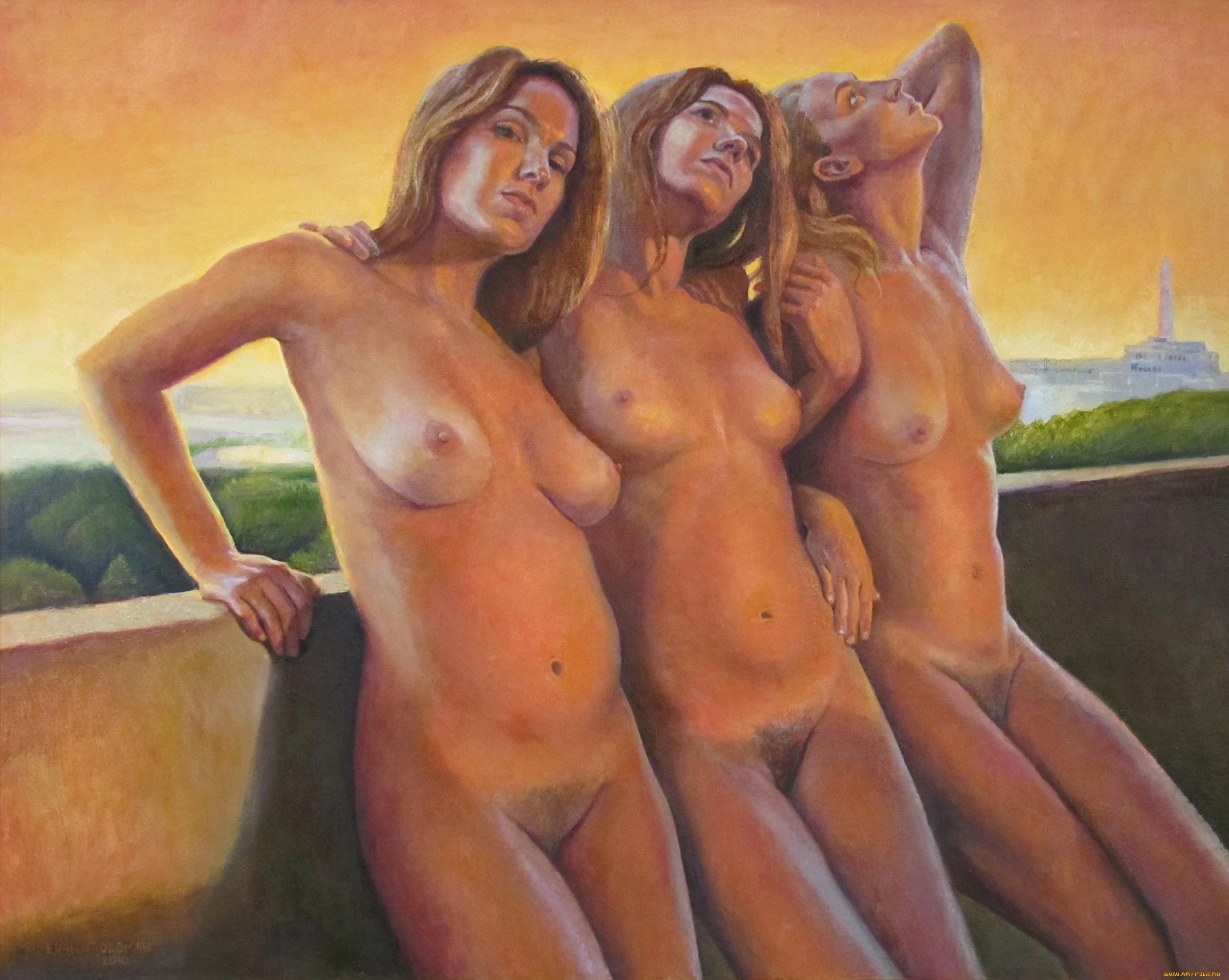 Рисованные эротические девушек 1 фотография