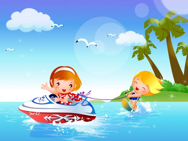 Скачать Дети картинки лето 5
