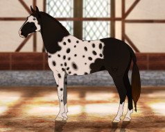 лошадь, взгляд, фон