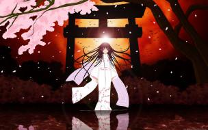 аниме, jigoku shoujo, etoo, miyuki, enma, ai, jigoku, shoujo