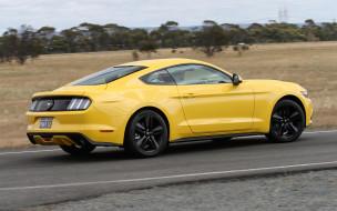 автомобили, ford, mustang, ecoboost, fastback, au-spec, 2015г