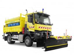 обои для рабочего стола 4096x3072 техника, снегоуборочная техника, service, road, k, 380, renault