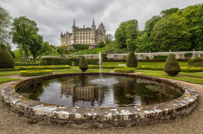 dunrobin castle,  scotland, ������, - ������,  �����,  ��������, ����, �����