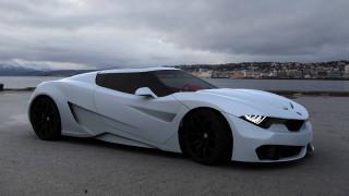 concept bmw, автомобили, bmw, concept, набережная, белый, автомобиль