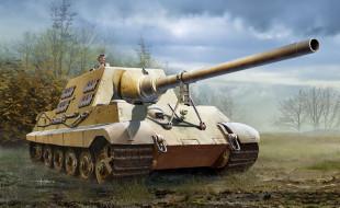 рисованное, армия, танк