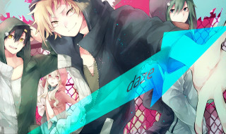 аниме, kagerou project, парни