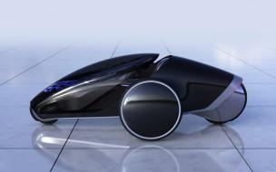 2013 Toyota FV2 Concept обои для рабочего стола 1920x1200 2013 toyota fv2 concept, автомобили, toyota, 2013, fv2, concept, автомобиль, чёрный