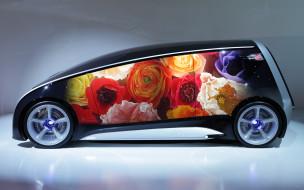 Toyota Fun Vii Concept обои для рабочего стола 1920x1201 toyota fun vii concept, автомобили, toyota, fun, vii, concept, side, floral, авто