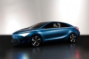 Toyota Yundong Shuangqing hybrid обои для рабочего стола 2100x1400 toyota yundong shuangqing hybrid, автомобили, toyota, иероглифы, машина, серый, фон, yundong, shuangqing, hybrid