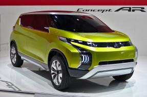 2014 Mitsubishi Concept AR обои для рабочего стола 1933x1280 2014 mitsubishi concept ar, автомобили, mitsubishi, 2014, concept, ar, car, салон, жёлтый, металик