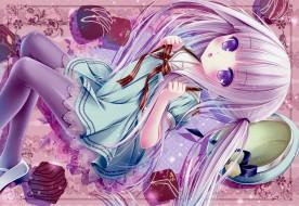 аниме, tinkerbell , artbook, девочка