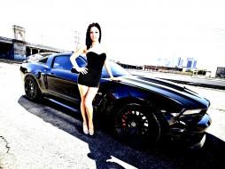 автомобили, -авто с девушками, mustang