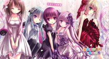 аниме, ro-kyu-bu, девочки, kashii, airi, hakamada, hinata, nagatsuka, saki, misawa, maho, minato, tomoka, арт