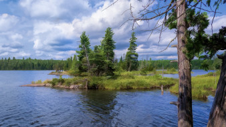 обои для рабочего стола 2048x1152 природа, реки, озера, река, лес
