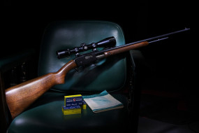 Remington, 121, оптика, ружье