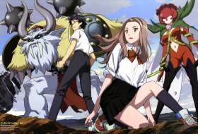 аниме, digimon, kido, jyou, rosemon, tachikawa, mimi, vikemon, sasaki, masakatsu