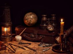 разное, глобусы,  карты, бинокль, компас, глобус