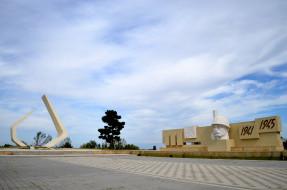 города, гянджа , азербайджан, war, monument, in, ganja