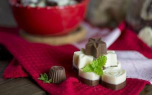 еда, конфеты,  шоколад,  сладости, шоколадные, шоколад, макро, боке