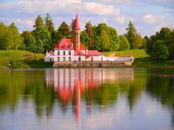 приоратский дворец, города, - исторические,  архитектурные памятники, гатчина, приоратский, дворец