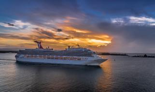 sunset cruise, корабли, лайнеры, круиз, лайнер