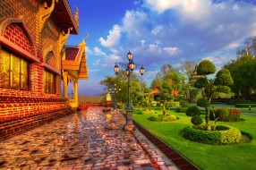 buddhist temple, thailand, города, - буддийские и другие храмы, храм