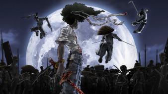 аниме, afro samurai, персонаж