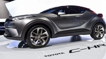 toyota c-hr concept 2015 car crossover, автомобили, выставки и уличные фото, c-hr, 2015, concept, toyota, crossover, car