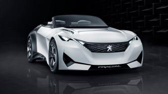 peugeot fractal concept 2015, автомобили, peugeot, белый, 2015, concept, fractal