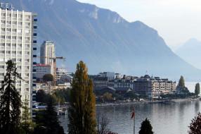 женева, города, - панорамы, озеро