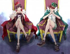 обои для рабочего стола 2000x1539 аниме, haikyuu, волейбол, ойкава, тору, тобио, кагеяма, короли