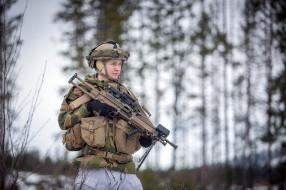 армия, солдат, оружие