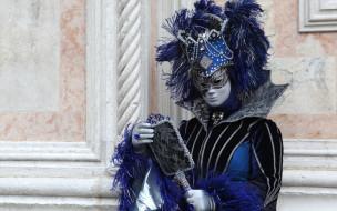 обои для рабочего стола 2560x1600 разное, маски,  карнавальные костюмы, венеция, карнавал, маска, костюм, перья, зеркало
