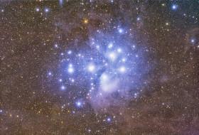 Звёздное скопление, Плеяды, M-45