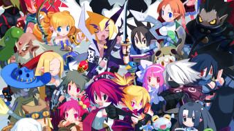 аниме, netherworld battle chronicle,  disgaea, персонажи
