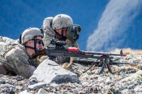 солдат, армия, оружие, New Zealand Defence Force