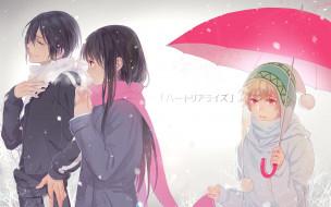 noragami, аниме, персонажи
