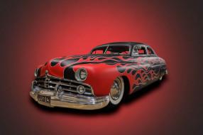 автомобили, custom classic car, красный