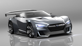 subaru unveils viziv-gt concept, автомобили, 3д, subaru, unveils, viziv-gt, concept