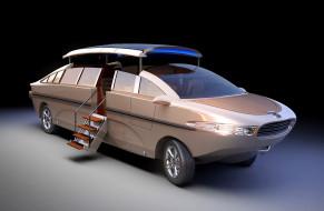 nouvoyage limousine concept futuristic, автомобили, 3д, futuristic, concept, limousine, nouvoyage