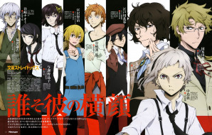 аниме, bungou stray dogs, bungou, stray, dogs