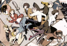 аниме, bungou stray dogs, bungou, stray, dogs, парни