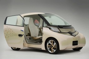Toyota FT EV-II Concept 2010 обои для рабочего стола 2000x1331 toyota ft ev-ii concept 2010, автомобили, toyota, 2010, concept, ft, ev-ii