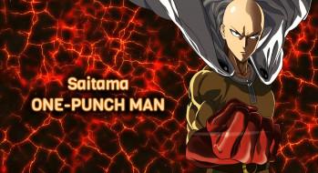 обои для рабочего стола 3840x2095 аниме, one punch man, saitama