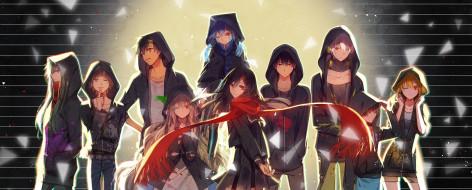аниме, kagerou project, kagerou, project, mekakucity, actors