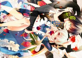 аниме, kagerou project, девушка, парень