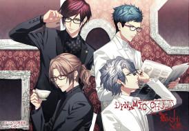 аниме, dynamic chord, группа, парни