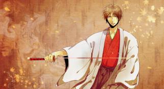 обои для рабочего стола 3848x2082 аниме, kuroko no baske, меч, парень